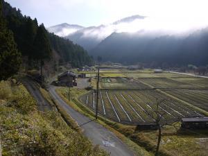 京都美山町の朝