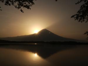 田貫湖からの富士山