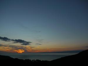 伊豆土肥町からの夕景