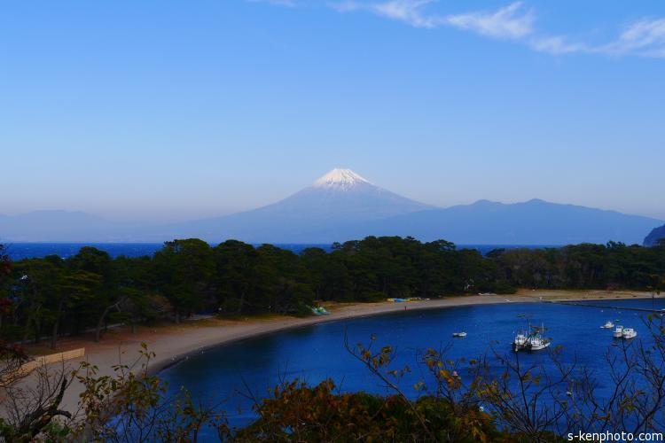 大瀬から望む富士山