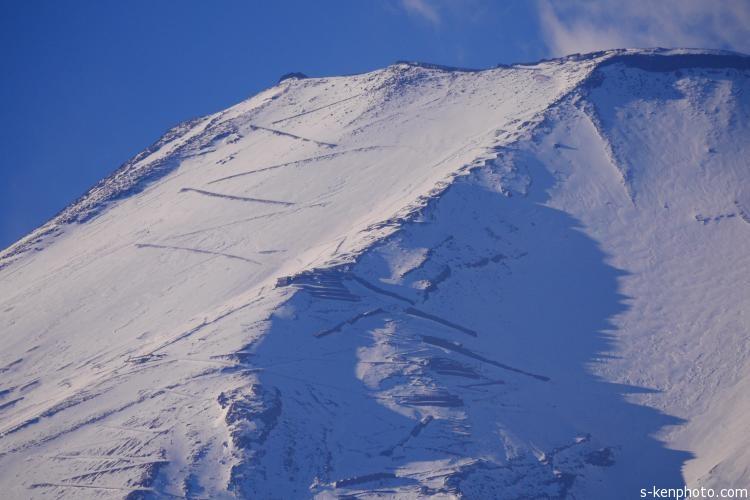 御坂峠からの富士山