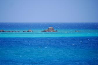 Blueすぎる海