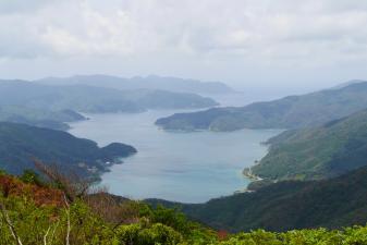 湯湾岳展望台