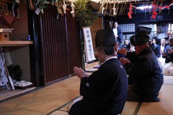 ドキュメント:秋元集落夜神楽