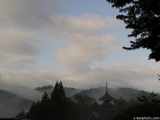 十津川村神納川地区(山天)集落